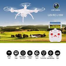 LiDiRC L15W 4CH  WiFi FPV 2.4G 4CH 6-axis Gyro Quadcopter w/0.3MP Camera V5H9