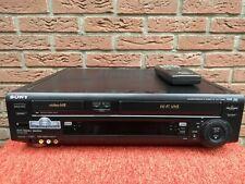 SONY SLV-T2000B Hi8 Vidéo8 8MM VHS combi SECAM + télécommande