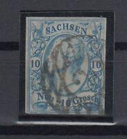 X2257/ GERMANY – SAXONY – MI # 13 USED – CV 330 $