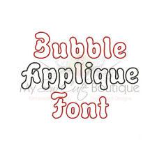 Bubble Applique Font Design - IMPFCD45