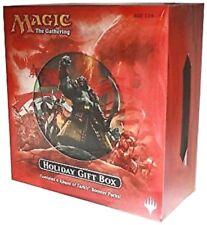 HOLIDAY GIFT BOX Magic Gathering Alt Art card 4 Khans of Tarkir Booster Packs+