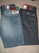 NWT G STAR RAW DENIM Mens STRAIGHT FIT Jeans 28x30 3301 BUTTON FLY TAPERED L@@K