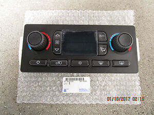 05 - 06 GMC ENVOY XL XUV A/C HEATER CLIMATE TEMPERATURE CONTROL OEM BRAND NEW