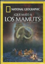 NATIONAL GEOGRAPHIC  QUE MATO A LOS MAMUTS NEW