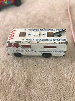 1980 Matchbox Nasa Tracking Vehicle Command Center Loose 1/64