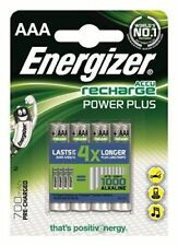 4 x ENERGIZER recharge AAA POWER-PLUS Akku 700 mAh  Micro LR03 LR3 MN2400 NIMH