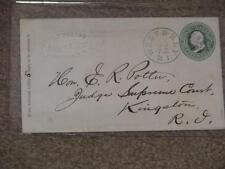 Cover From Thos. Peabody Atty. at Law to Hon. E.R. Potter Judge Supreme Ct. 1873