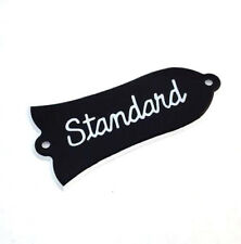 2-ply Black Truss Rod Cover for Gibson Les Paul Standard®
