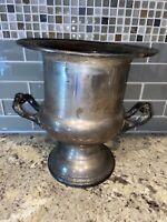 Newport Silverplate Champagne Wine Chiller Ice Bucket Trophy Vintage 705