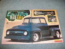 "1956 Ford Big-Window F-100 Vintage Street Rod Article ""Green with Envy"""
