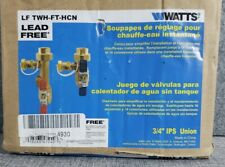 Watts Service Valve Kit for Tankless Water Heater (Lftwh-Ft-Hcn) Open Box