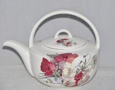 Springfield Fine English Bone China 4 Cup Teapot Tea Pot Kettle POPPY BOUQUET