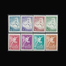Paraguay, Sc #630-37, MNH, 1962, Tennis, Sports, Cpl set, CL200F