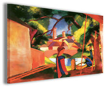 Quadro moderno August Macke vol III stampa su tela canvas pittori famosi