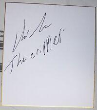 Chris Leben Signed Shikishi Japanese Art Board PSA/DNA COA UFC 132 116 Autograph
