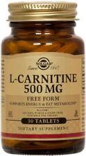 Solgar L-Carnitine 500 mg 30 Tablets