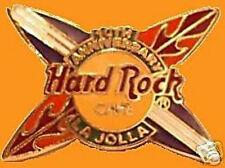 Hard Rock Cafe LA JOLLA 1998 10th Anniversary PIN Surfboards