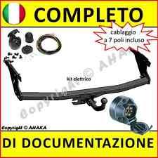 Gancio di traino fisso Ford Focus II SW Familiare 2004-2011 kit elettrico 7-poli