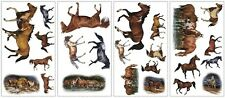 HORSES wild ponies Wall Stickers 24 big decals stallion mare room decor