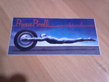 Autocollant sticker pneus PIRELLI
