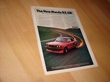 1977 1978 Mazda RX-3SP  Vintage Advertisement Magazine Ad FREE SHIPPING 70