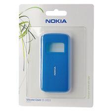 Nokia Silicon Cover CC-1013, blau für Nokia C6-01