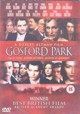 GOSFORD Park DVD 2002 by Kristen Scott Thomas Stephen Fry
