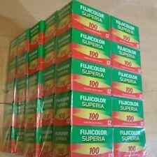 10 Rolls Fujifilm Fujicolor 100 12  Exp Color Print 35mm Film Vintage Exp 03/06