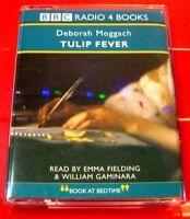 Deborah Moggach Tulip Fever 2-Tape Audio Book Emma Fielding/William Gaminara