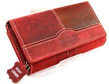 Echt Leder schöne Damen Portemonnaie,Brieftasche,Geldbörse Wild -  SJ- 00193