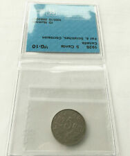 1926 George V 5 Cents CAN • Far 6, Scratches, Corrosion • Grade VG-10