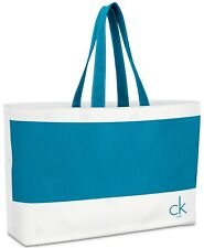 Calvin Klein Large Reusable Canvas Tote Beach Bag SEALED PACKAGE
