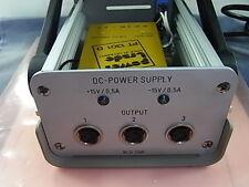 DC Power Supply +15v 0.5a - 15v 0.5a pt1301 D