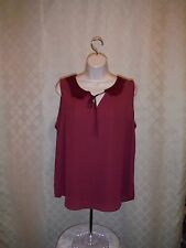 LC Lauren Conrad Sleeveless Blouses 2XL,XL,L,M,Some Color 100% polyester NWT
