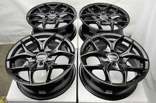 "15"" Wheels Rims Fit Honda Accord Civic Corolla Miata Lancer Nissan Versa Black"