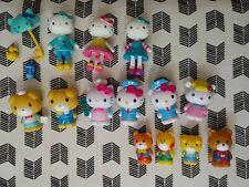 New ListingHello Kitty Mini Figures Mixed Lot Sanrio Characters Variety 16 Pcs