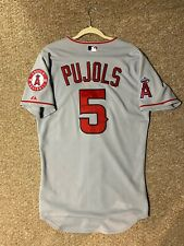 Authentic Albert Pujols Majestjc Jersey MLB Angels Size 40 Medium Men's