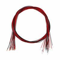 10pcs Pre-soldered Micro SMD LED Warm White Light Diode 0402 DC 2.8-3V