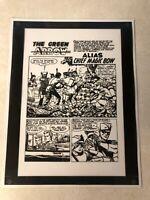 WORLD'S FINEST #104 ACETATE ART title half splash pg GREEN ARROW ELIAS 1959