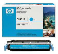 GENUINE HP NO 641A Cyan LaserJet Toner Cartridge C9721A Brand New