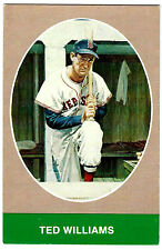 TED WILLIAMS 1984 TCMA's Bruce Stark Post Card (vg)