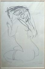 Edolo Masci - Disegno su carta, opera originale anni '70