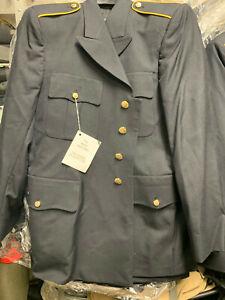 US ARMY MEN'S 44R MILITARY SERVICE DRESS BLUE BLUES ASU UNIFORM COAT JACKET NEW