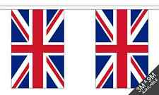 Union Jack (UK) National Bunting 6 metre, 20 flags