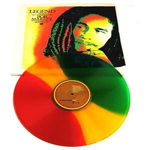 Bob Marley and The Wailers LEGEND Vinyl LP Coloured Disc Rare Hemp Cover 2010