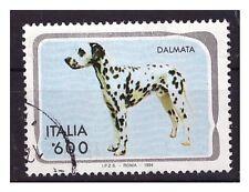 DALMATA  FRANCOBOLLO USATO -  ITALIA 1993