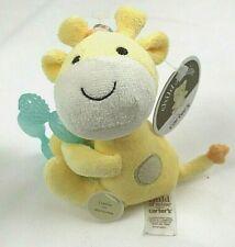 Carter's Baby Child of Mine Rattle Yellow Giraffe Teether Rattle Plush Toy Stuff
