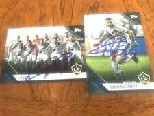 Los Angeles Galaxy 2019 TOPPS MLS Partially Signed TEAM SET cards Current Roster
