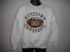 Vintage 80s Kutztown University Football Dad Sweatshirt Fits Small
