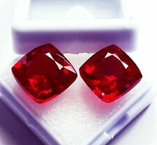 Loose Gemstone 8 to 10 Cts Certified Natural Red Ruby Pair